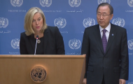 Secretary-General Ban introduces Sigrid Kaag as Special Coordinator of the Joint Mission the UN and OPCW on eliminating Syria's chemical weapons programme