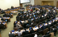 Amid intense debate, First Committee (Disarmament and International Security Committee) begins voting on draft resolutions and decisions