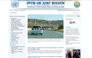 Organisation for the Prohibition of Chemical Weapons and the United Nations launch dedicated website for the OPCW-UN Joint Mission in Syria