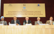 Civil Society to Reflect on Measures for Implementing Security Council Resolution 1540 (2004), in New Delhi, 25-26 February