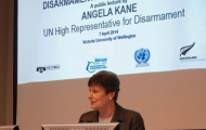 "High Representative Kane's Lecture at Victoria University ""Disarmament:  The Balance Sheet. Is the World Listening to Secretary-General Ban Ki-moon's Calls for Progress?"""