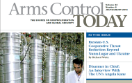"Arms Control Today (July/August 2014 Edition): ""Disarmer in Chief: An Interview With the UN's Angela Kane"""