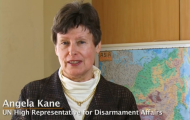 High Representative Kane in promotional video about the Regional Centre for Peace and Disarmament in Asia and the Pacific (UNRCPD)