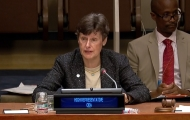 "High Representative speaks about ""Capacities for Disarmament"" at First Committee high-level panel of inter-governmental organizations"