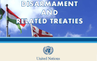 "UNODA releases new online publication ""Disarmament and Related Treaties"" PDF available now. eBook version coming soon"