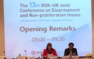 Director's opening remarks at the 13th UN-ROK Joint Conference on Disarmament and Non-proliferation Issues Jeju Island, Republic of Korea