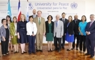UPEACE hosts the first meeting to boost women´s participation in the field of disarmament