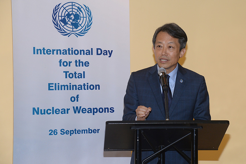 Acting High Representative for Disarmament Affairs KIM Won-soo