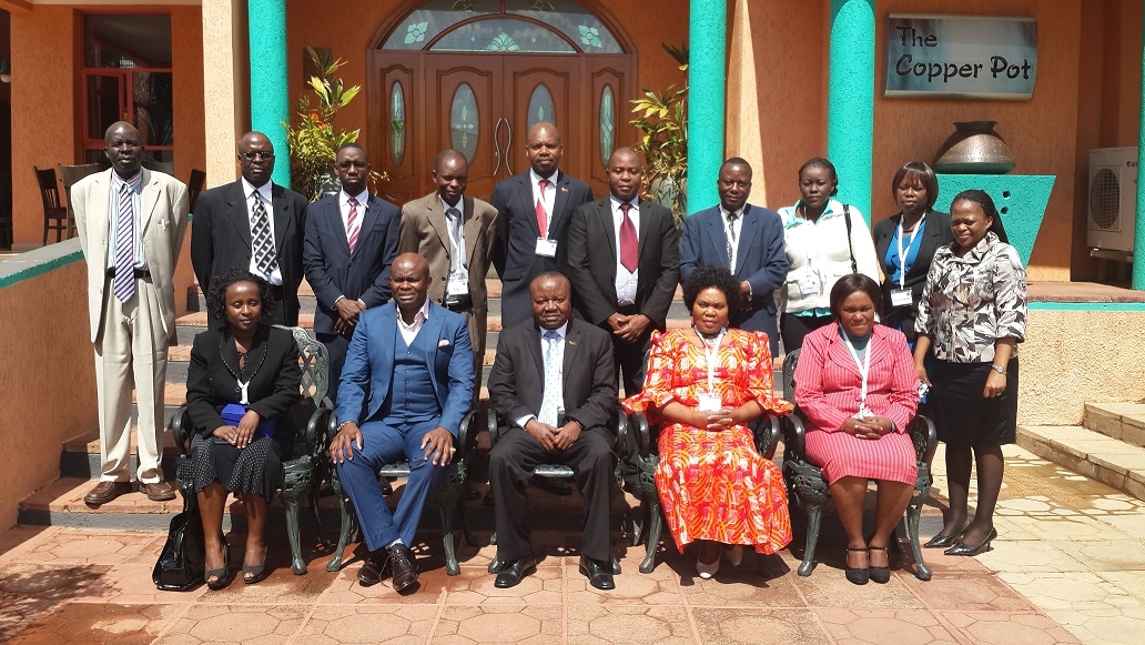 Participants at the meeting in Malawi organized by ISS