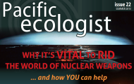 "Read High Representative Kane's article in the Pacific Ecologist on ""the United Nations and Nuclear Disarmament"" p31"
