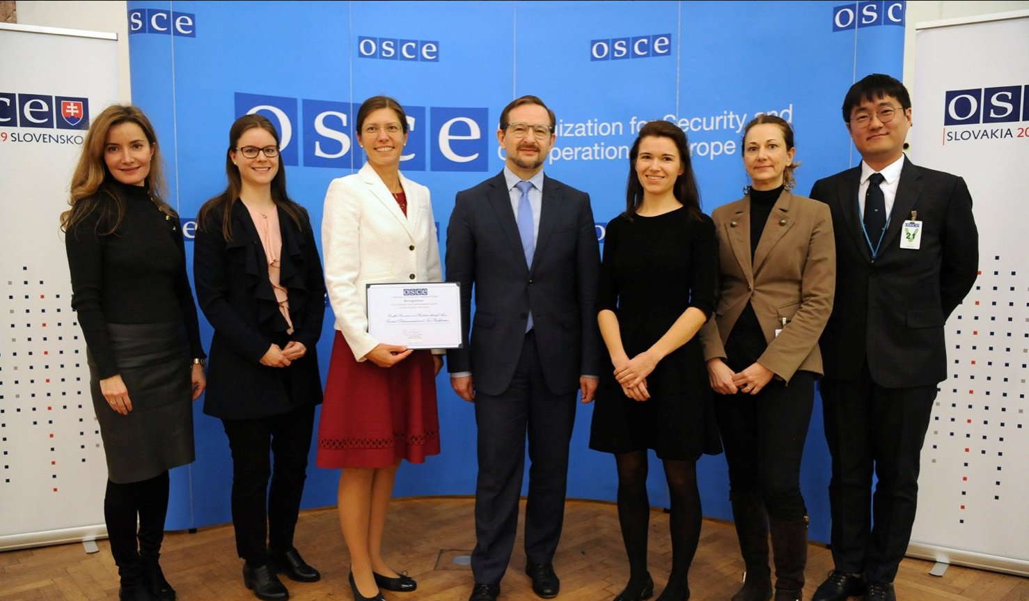 """UNODA-OSCE Scholarship for Peace and Security awarded with """"Gender"""