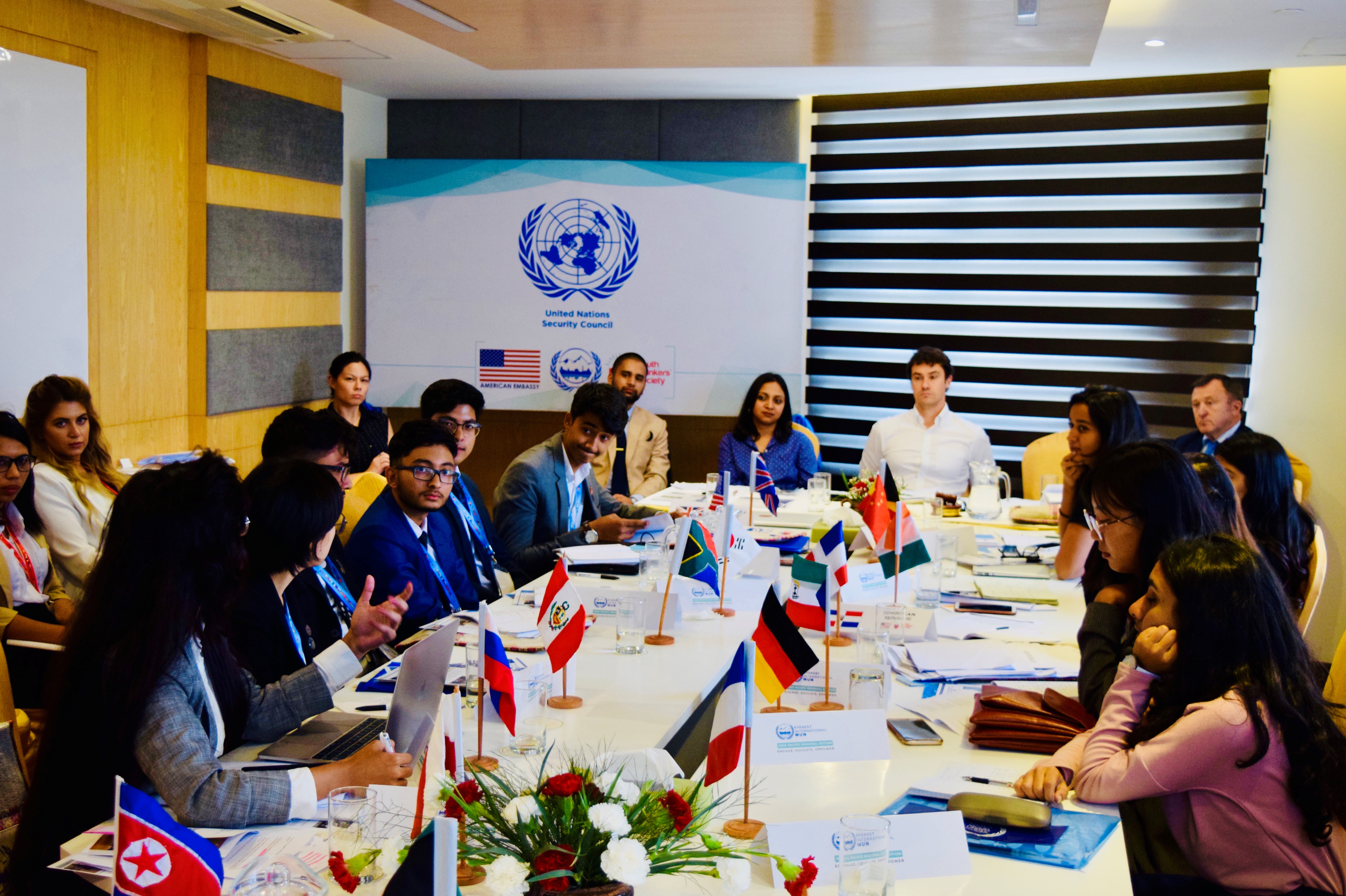UNODA's Regional Centre in Kathmandu works with US Embassy in supporting annual Everest International Model UN, 15-19 July – UNODA