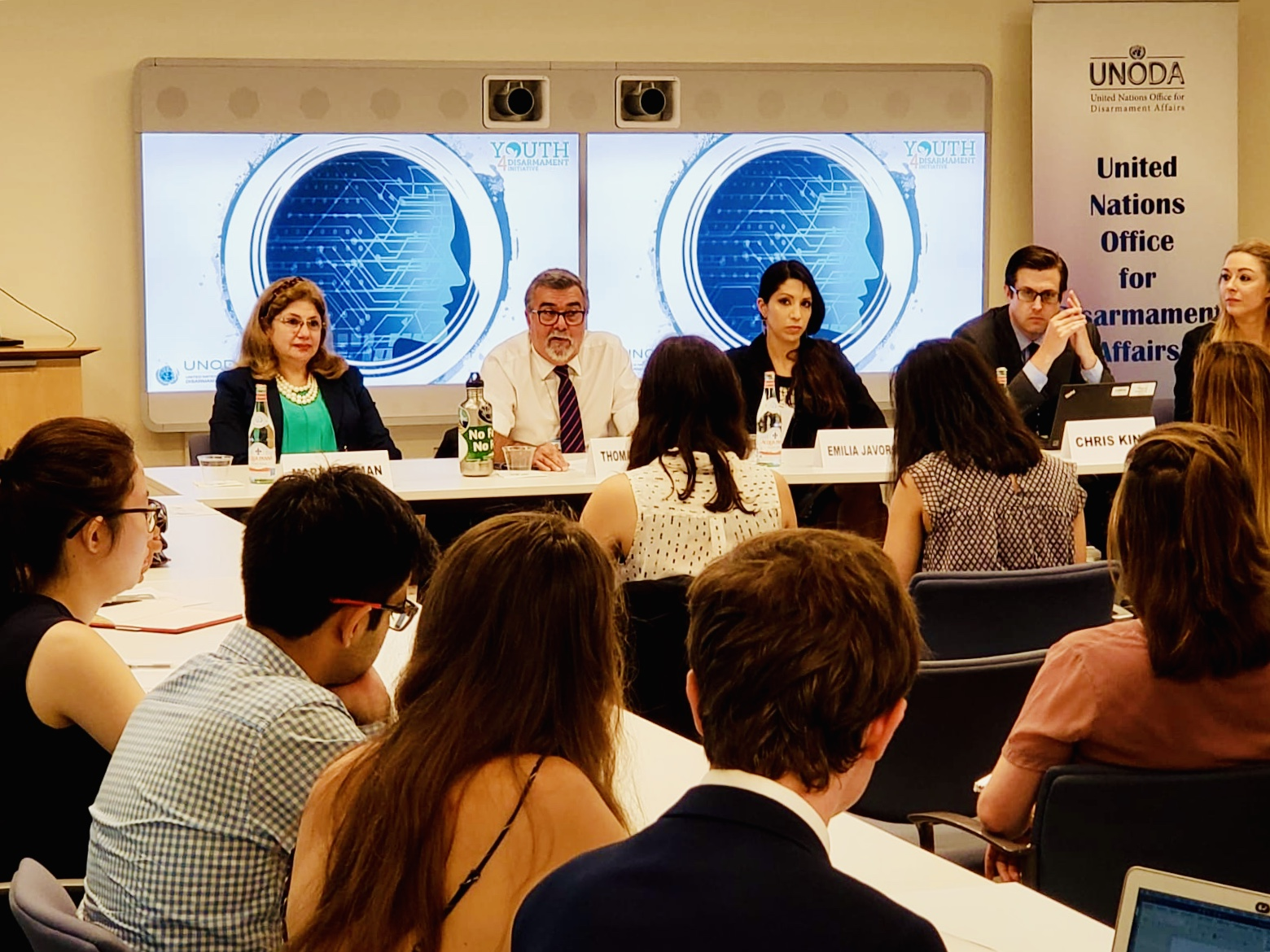 UNODA launches 'Youth4Disarmament' Initiative with dialogue on artificial intelligence and international security – UNODA