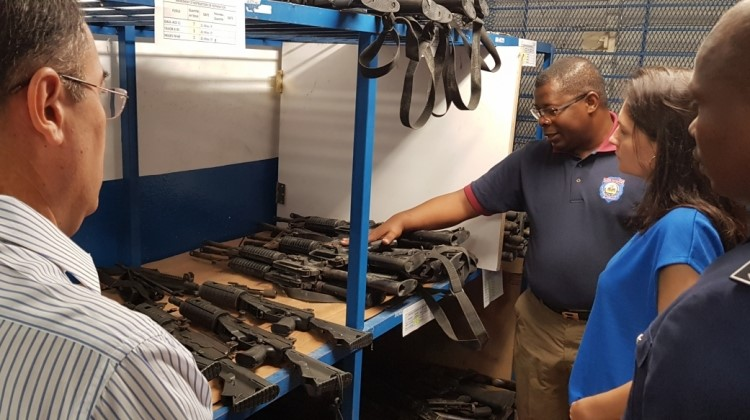 Mission on weapons and ammunitions management assessment in Haiti – UNODA