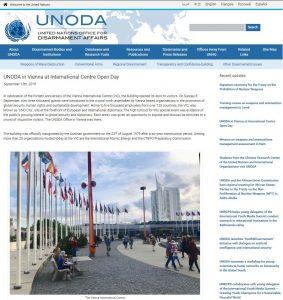 UNODA Update