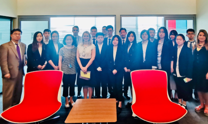 Students from the Chinese Research Center of the United Nations and International Organizations visit UNODA – UNODA