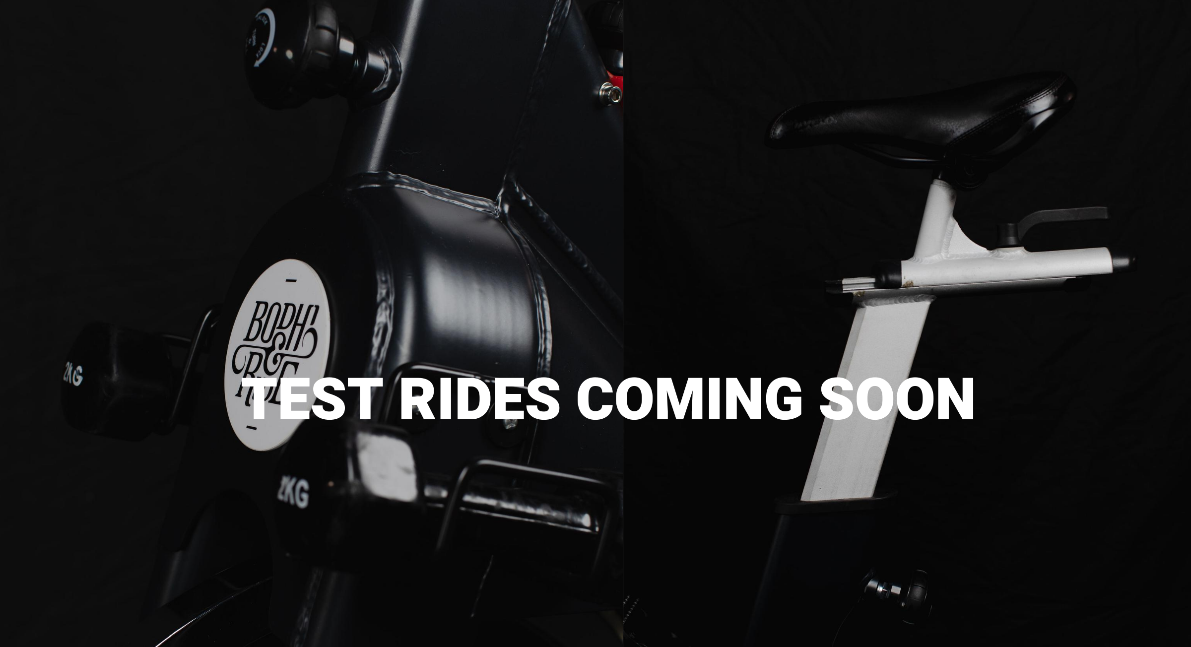 Test Rides Coming Soon