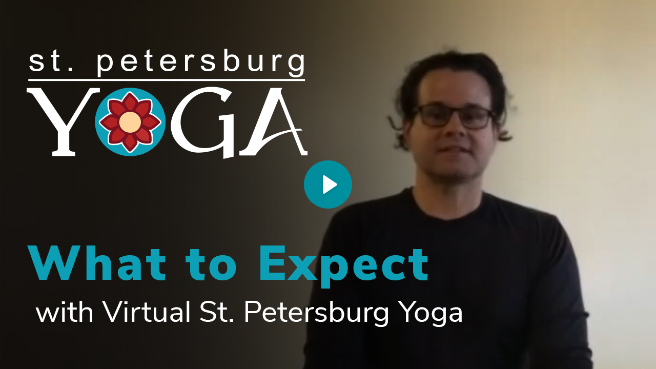 What to Expect with Virtual St. Petersburg Yoga