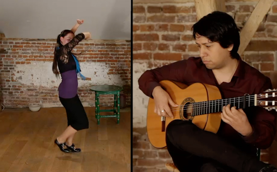 Guitar for dance: Sevillanas, Rumbas, Tangos...