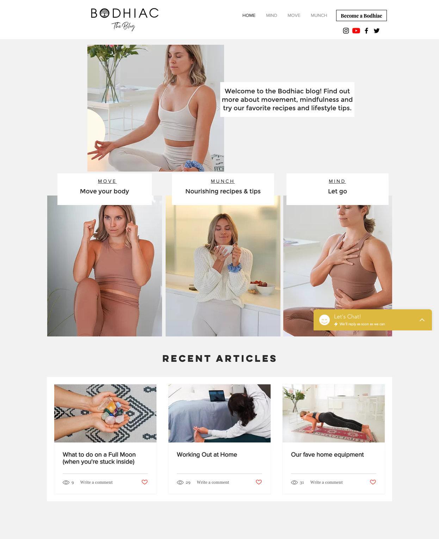 Bodhiac blog