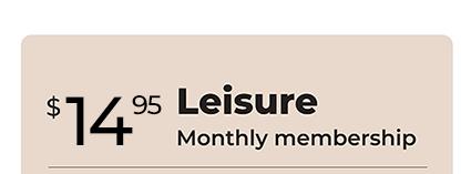 $14.95/month