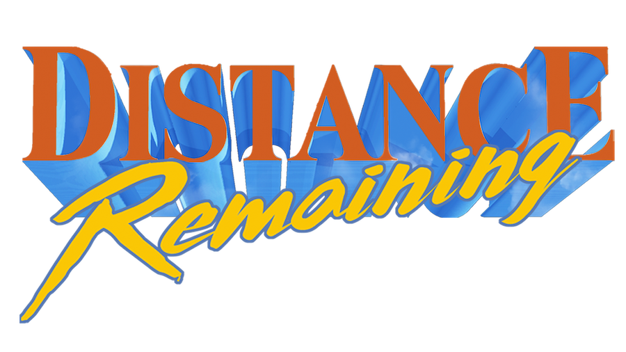 Distance Remaining title treatment