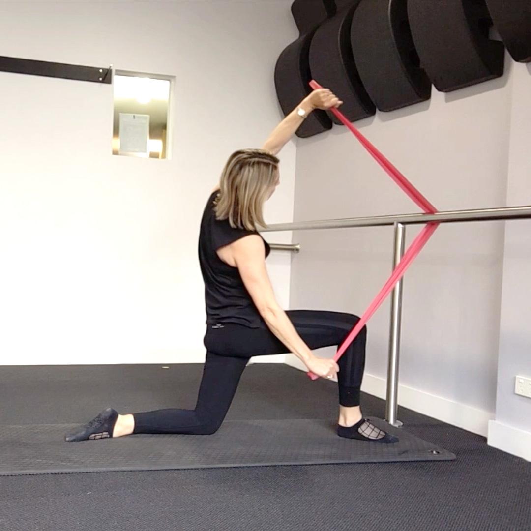 Theraband workout
