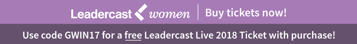 Leadercast Women ticket special