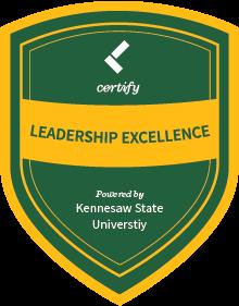 Leadercast Certify Badge