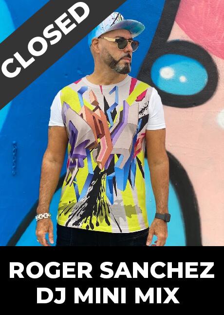 Roger Sanchez DJ mini mix contest