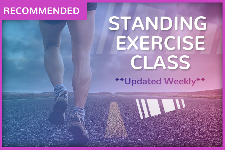Standing Exercise Class