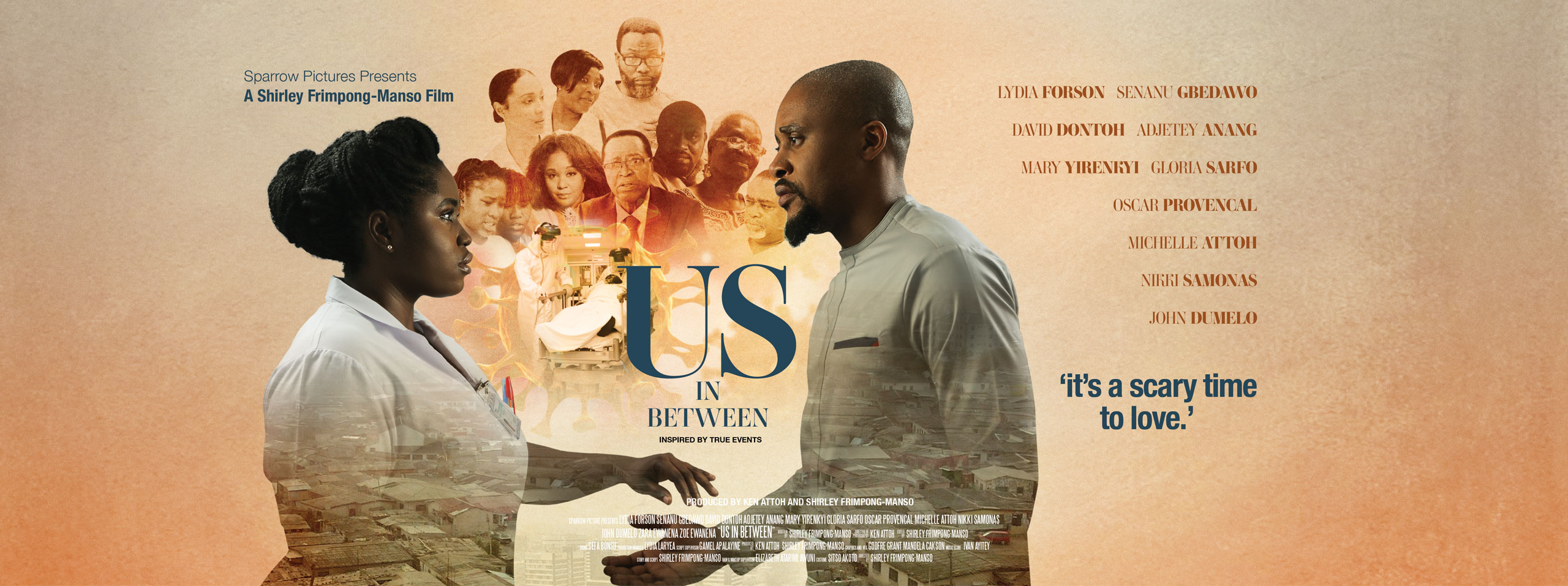 poster of a title that's coming soon: Us In Between