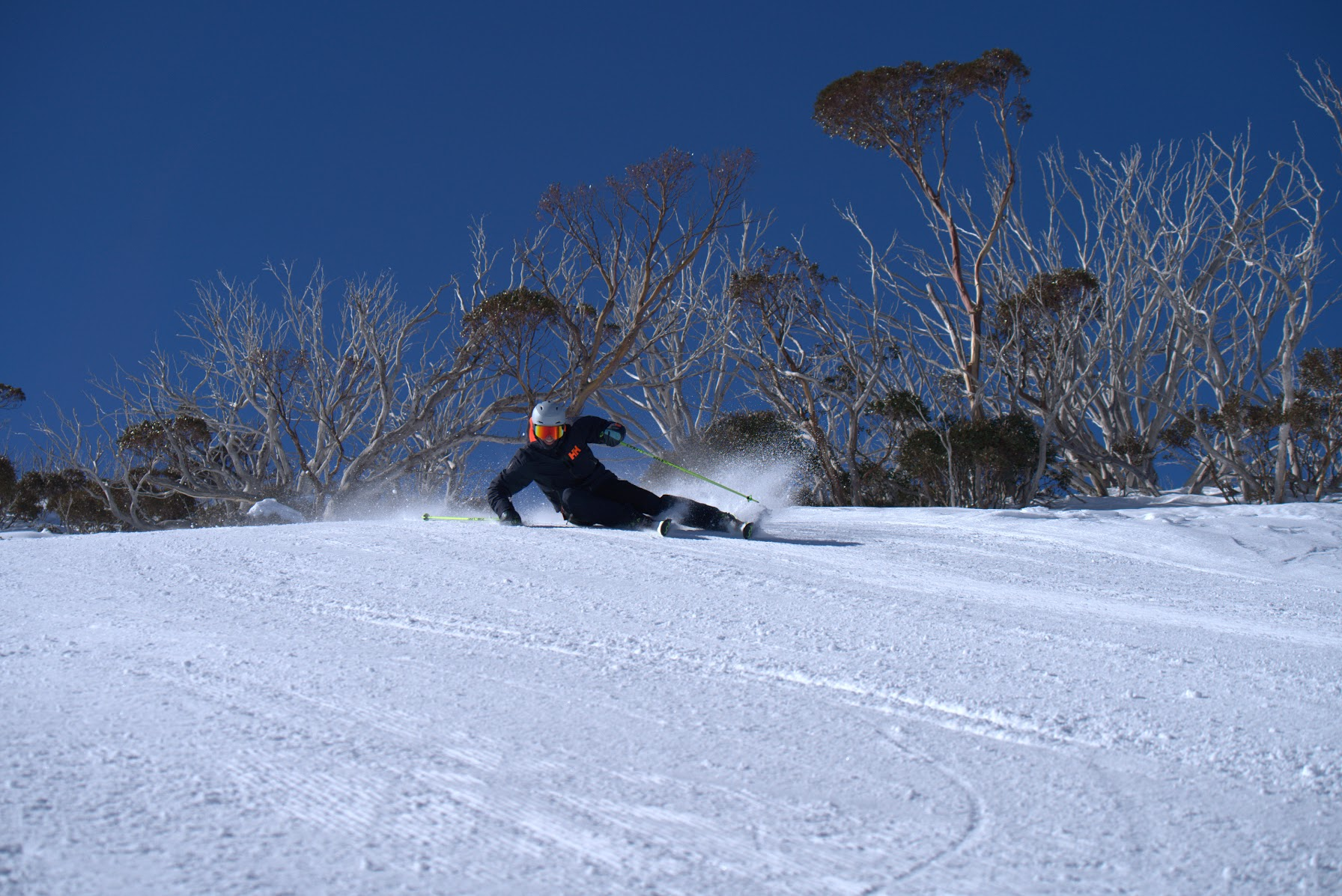 carving lesson hip to snow