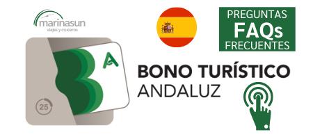 FAQ bono turístico Andalucía