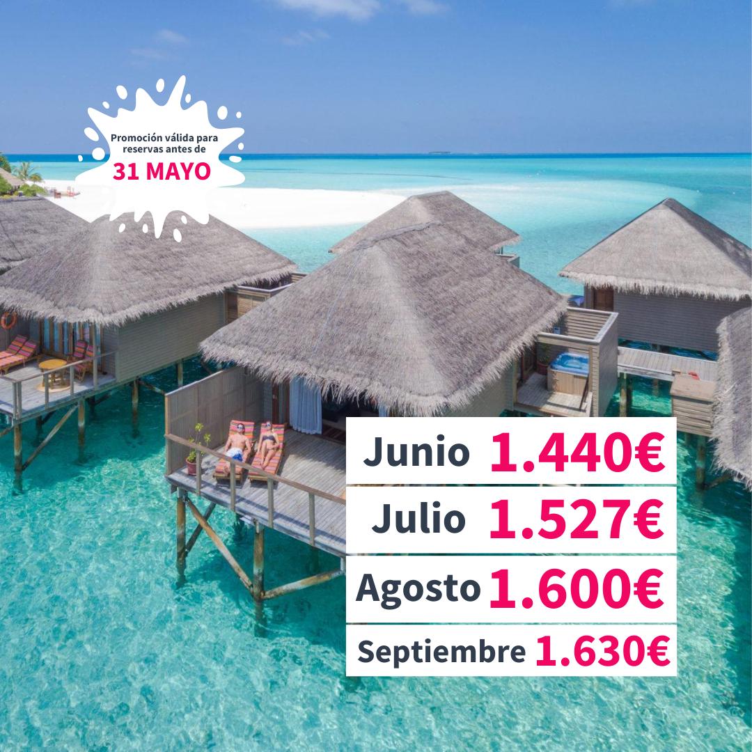 Chollos viajar a Maldivas verano 2021