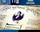 207° Aniversario de la creación del Himno Nacional Argentino