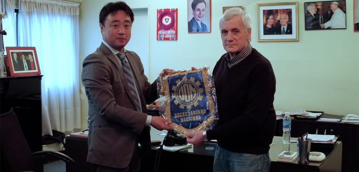 Medio Japonés entrevista a nuestro Secretario General