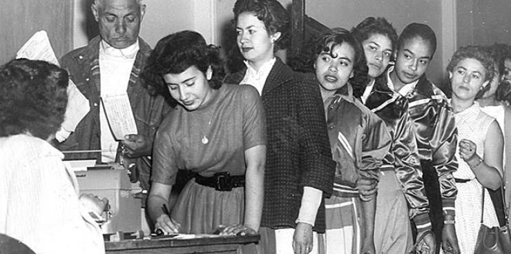 El voto femenino en la Argentina cumple 71 años