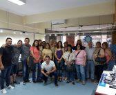 Mujeres Delegadas Metalúrgicas Peronistas visitan el Stand Tecnológico