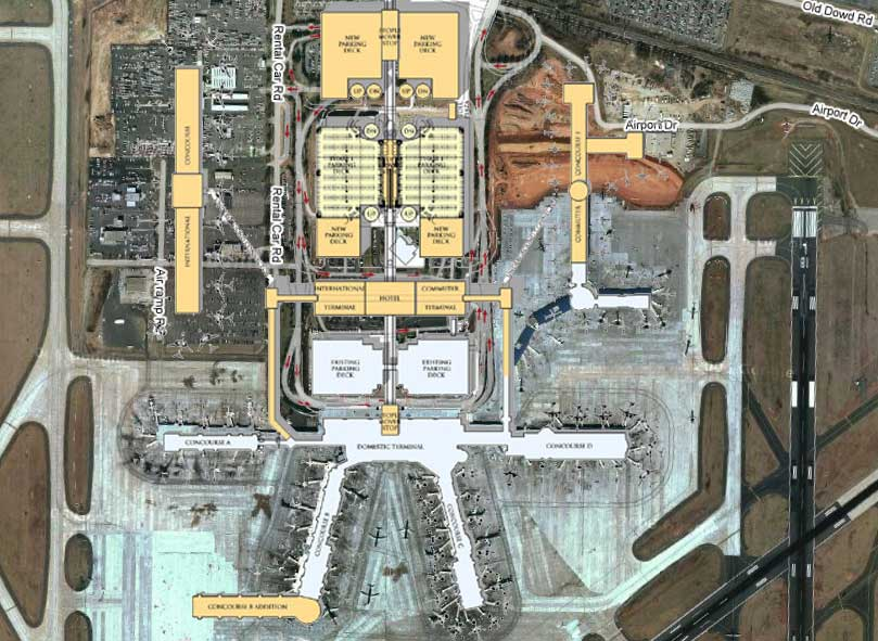 Charlotte-Douglas International Airport [Master Plan]
