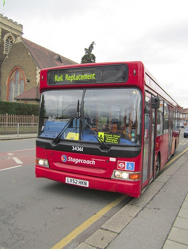Rail Replacement Bus