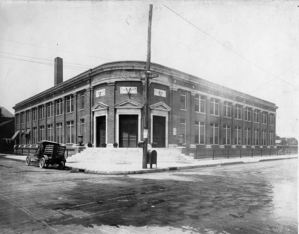 Nash Union Stockyard Office 1921