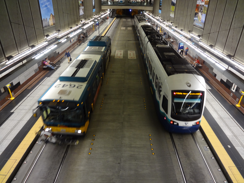 Seattle Transit Tunnel 2