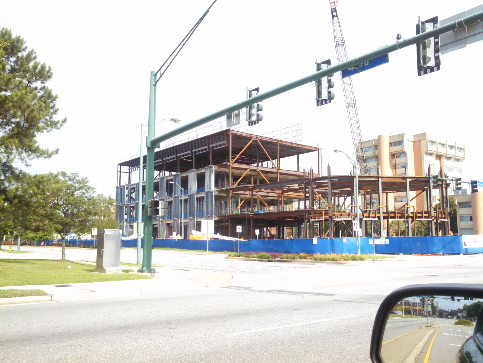 Education building at ODU under construction 2