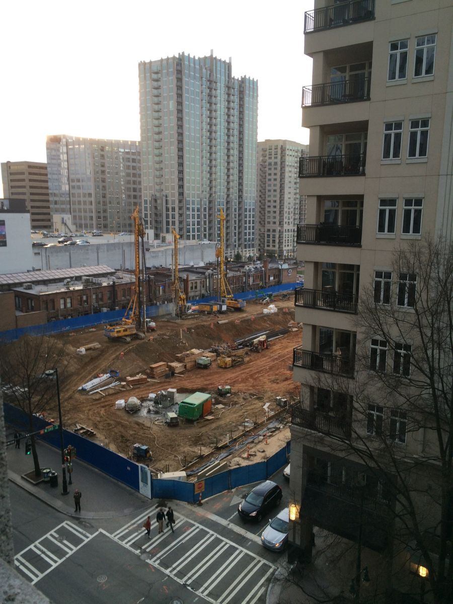 300 South Tryon Construction 3/4