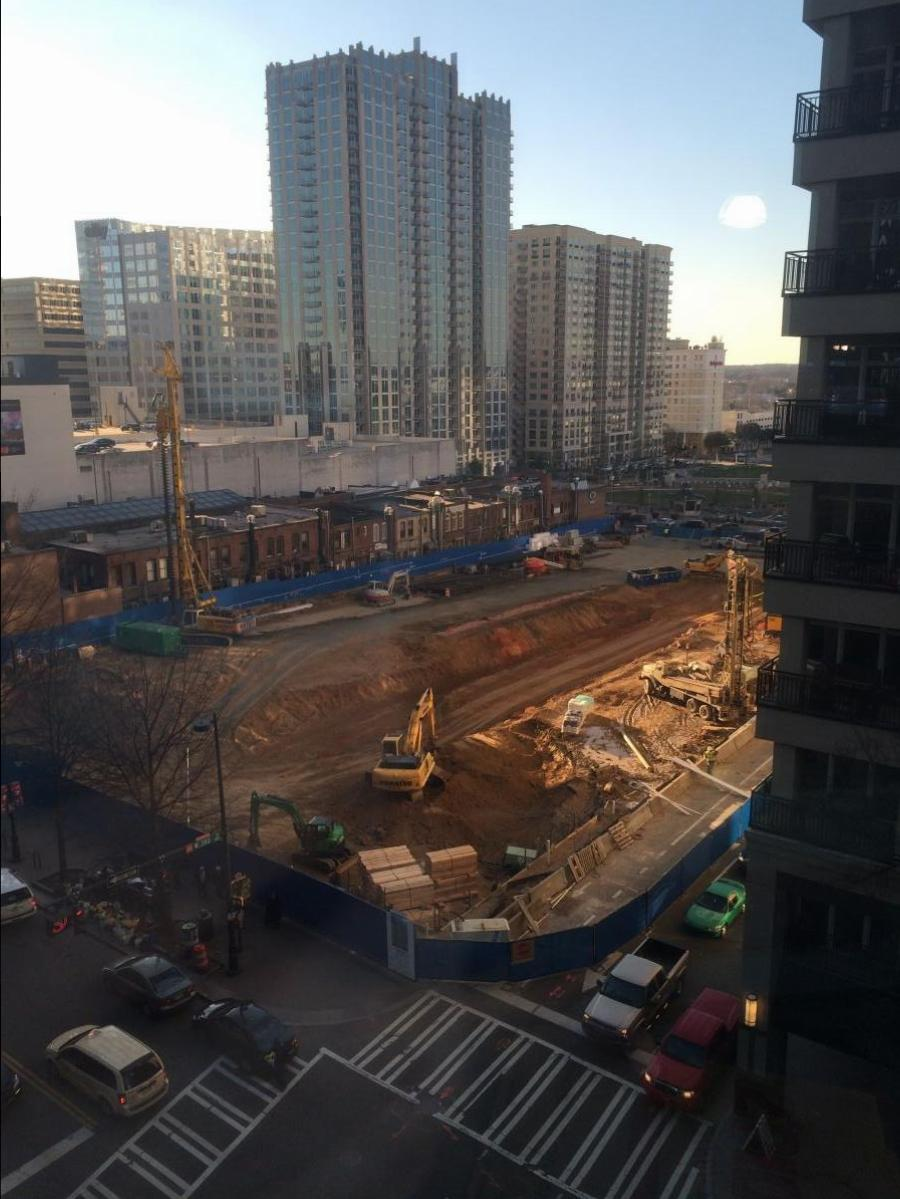 300 South Tryon Construction