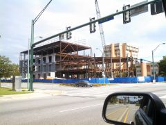 Education building at ODU under construction 1