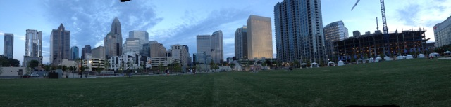 Panorama from Romare Park