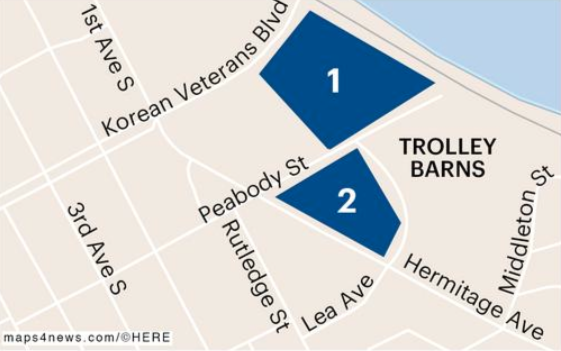 MDHA Trolley Barn site map.png