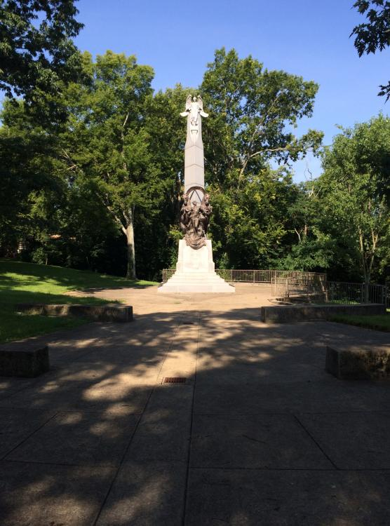 Battle of Nashville statue 3, 1926:1999.JPG